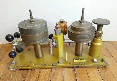 Chandler Engineering 55-1 Dead Weight Tester Pressure Calibrator Used
