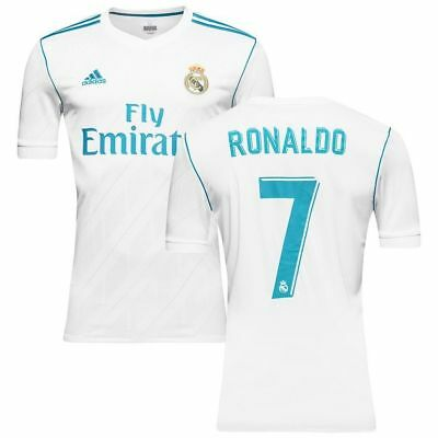 Real Madrid Home Shirt 2017 2018 Ronaldo 7