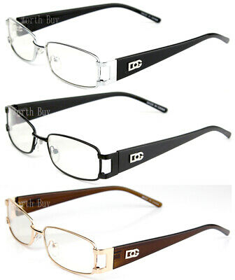 New Rectangular Fashion DG Eyewear Clear Lens Frame Glasses Mens Womens Designer