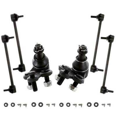 New Six Piece Suspension Package of Ball Joints and Sway Bars