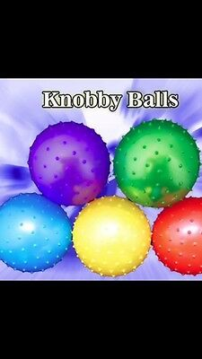 250 Knobby Balls 5 INCH Spike Massage Party Favor Toy PINATA Vending Crane Claw