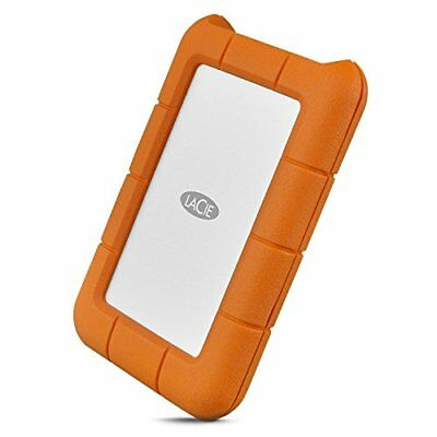 LaCie Rugged USB-C 2TB USB 3.0 EXTERNAL PORTABLE HARD DRIVE