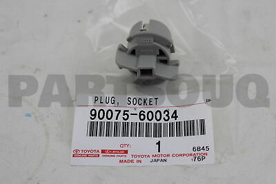 9007560034 Toyota SOCKET & WIRE SUB-ASSY, REAR COMBINATION LAMP, RH/LH