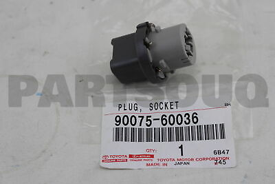 9007560036 Toyota SOCKET & WIRE SUB-ASSY, REAR COMBINATION LAMP, RH/LH
