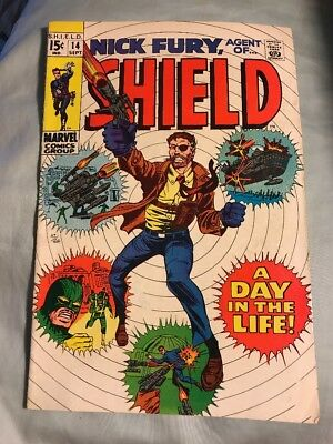Nick Fury Agent of SHIELD #14 Silver Age Marvel Comics Fine
