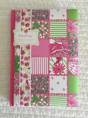 NEW LILLY PULITZER HARDCOVER ADDRESS/CELL BOOK With Lilly Pen