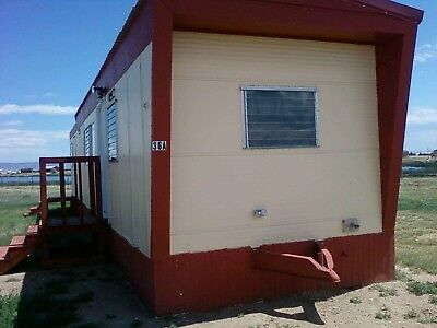 Original Vintage Tiny House Home 10' x 46' Marsh On Tires and Wheels with Hitch