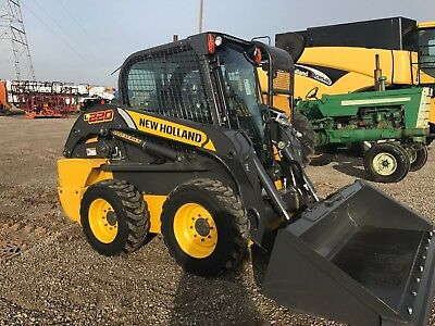 2016 New Holland L220 Skid Steer - ONLY 125 hours - High Flow Plus Package!