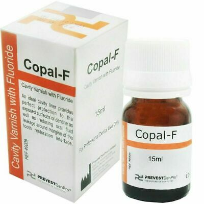 Dental Varnish Fluoride Varnish Copal F Cavity Prevest 15ml..! (Fast Shipping)