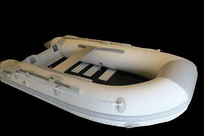 Newport 3.0m Inflatable Boat with Timber Slat Floor - 2 Year Warranty