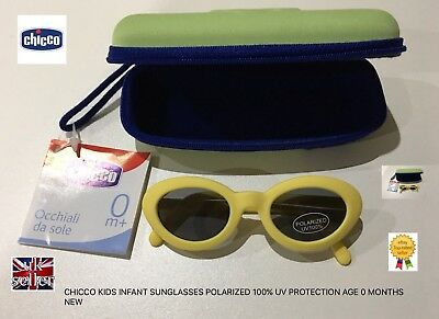 1cedb81e2c6 Chicco Kids Infant Sunglasses Polarized 100% Uv Protection Age 0 Months+ New