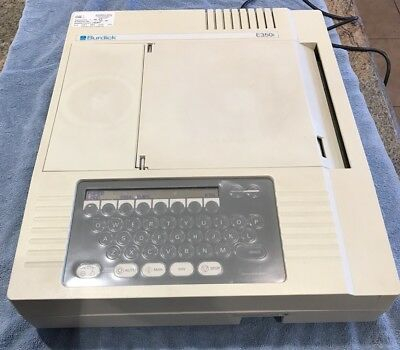Siemens  Burdick E350i EKG Good Condition with  Power Cord Working