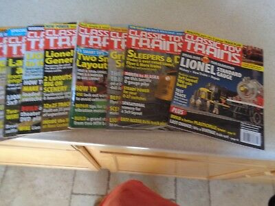 9 Issues of 2006 Classic Toy Trains Magazine Complete Year