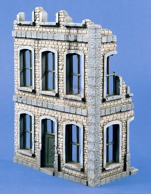 Front Section of 2-Story House Verlinden 1//35 Arab Building Ruin Iraq 2400