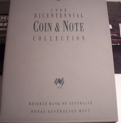 Bu 1988 Bicentennial Coin And Note Collection/3 Coins/3 Notes