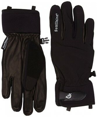 (XLarge, Black) - Sealskinz Women's Winter Riding Glove. Best Price