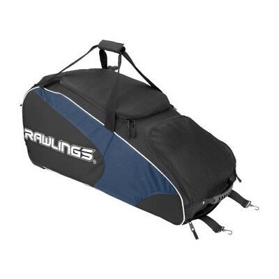 (navy) - Rawlings Workhorse Wheeled Bag, Navy, 90cm x 36cm x 41cm. Brand New