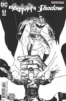 Dc Dynamite Batman The Shadow #1 Comic Coloring Book Variant Cover