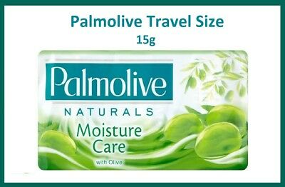 10 x PALMOLIVE NATURALS SOAP WITH OLIVE 15g EACH For AIRBNB, HOTELS, B & Bs etc