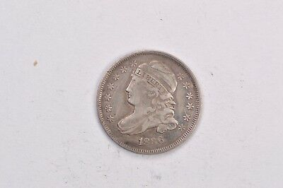 1836 Capped Bust Dime .99c NO RESERVE