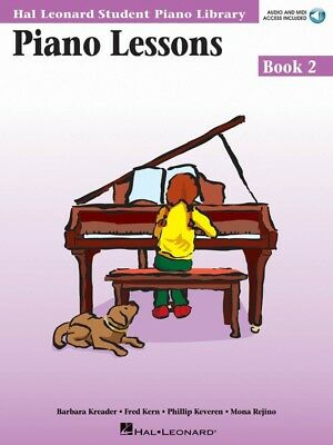 HAL LEONARD PIANO LESSONS - BOOK 2 –  Audio and MIDI Access Included