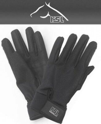 (Medium - 7.5, Black) - RSL Ladies ISO Winter Riding Gloves. Huge Saving