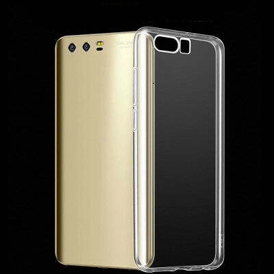 For Huawei Honor 7/8/9 Clear Shockproof Silicone TPU Protective Case Cover