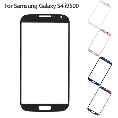 For Samsung Galaxy S4 SIV i9500 Front Outer Lens Glass Touch Screen Replacement