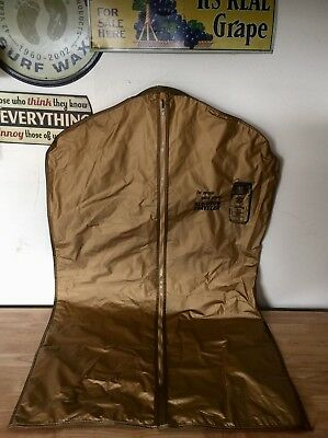 Vintage OLD CROW Traveler Kentucky Bourbon Whiskey Travel Bag ONLY ONE ANYWHERE