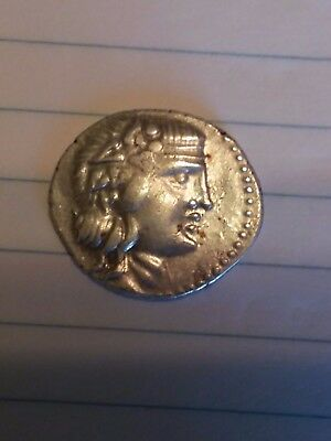 RARE MS ILLYRIA KORKYA Hybrid GOAT/PEGASUS Ancient Greek Coin