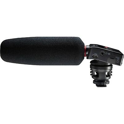 Tascam DR-10SG Camera Mount Shotgun Microphone with Audio Recorder NEW