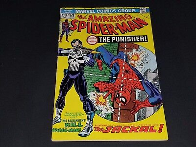THE AMAZING SPIDER-MAN #129 - 1st appearance of The Punisher 1st printing 1974