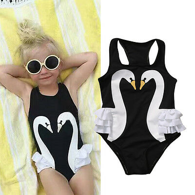Summer Kids Baby Girl Tankini Bikini Swimwear Swimsuit Bathing Suit Beachwear AU