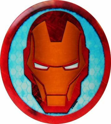 (Cracked Series Iron Man Head) - Dynamic Discs Marvel Avengers DyeMax Mini