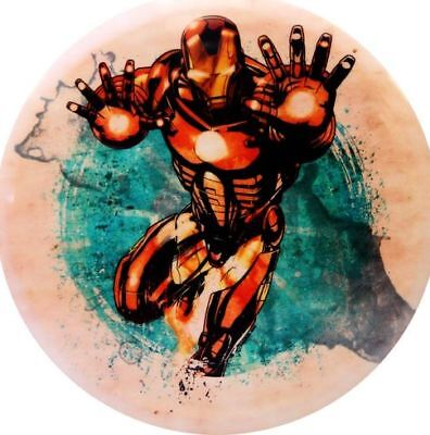 (Splatter Series Iron Man) - Dynamic Discs Marvel Avengers DyeMax Mini Fuzion