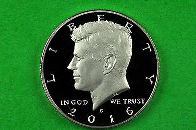 2016-S  Deep Cameo SILVER Kennedy Half Dollar US GEM Proof (90% SILVER)