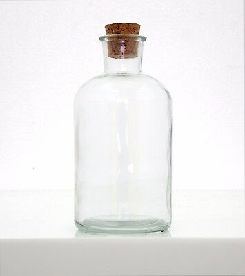 40 Pcs Glass Bottle with Cork 500ml