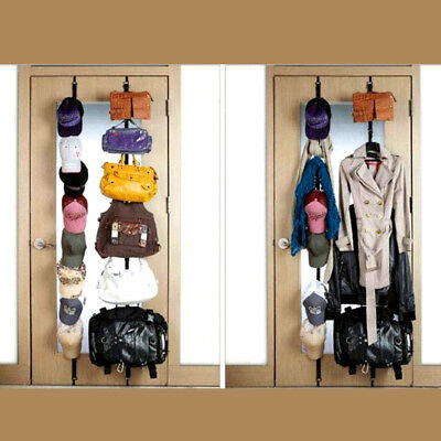 CapRack 8- Baseball Cap Hat Holder Rack Organizer Storage Door Closet Hanger