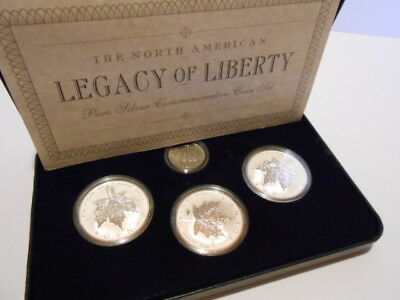 Legacy of Liberty 4 Coin Proof Set