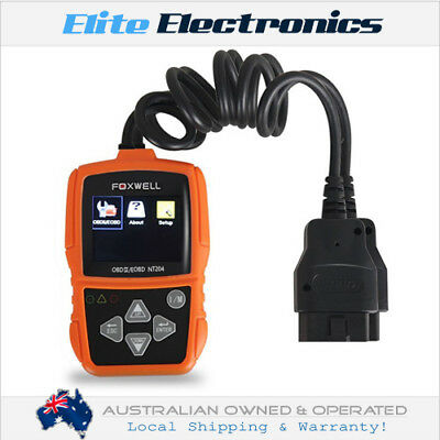 Foxwell Nt204 Professional Obd2 Code Reader Car Engine Fault Code Reader
