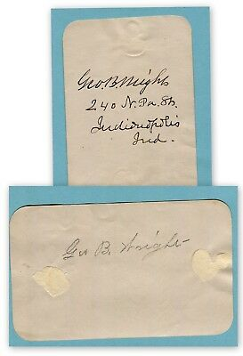 Page from Autograph, cannot identify person (3577