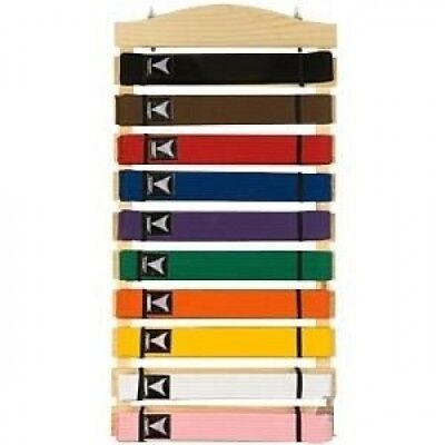 Ten Level Martial Arts Karate Belt Display. BBS. Free Delivery