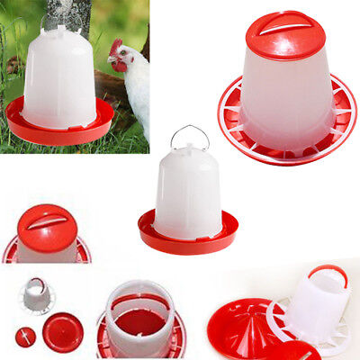 Hot 1.5kg Feeder & 1.5L Drinker Chicken/Poultry/Chick Food And Water Accesories