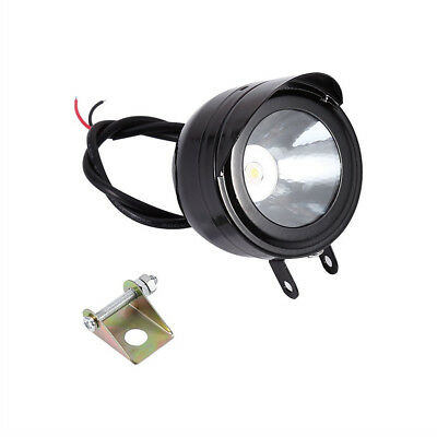 Universal Electric Motorcycle Lamp LED Fog Spot White Light Headlight 12V