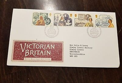 Royal Mail Victorian Britain First Day of Issue stamp Briefmarke 1987