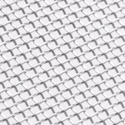 30 Mesh 304 Stainless Steel Woven Wire Filtration Filter Sheet 10x10cm