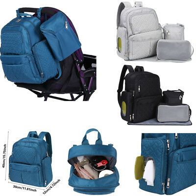 Multifunctional Baby Diaper Nappy Backpack Mummy Maternity Large Capacity Bag