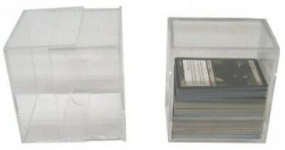 5 BCW Brand 200 Trading Card Capacity Slider Box / Holder / Case - TCBRSB200 -