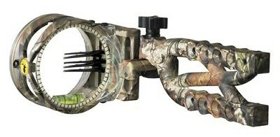 Trophy Ridge Cypher Bow Sight 5 Pin .019 Camo. Brand New
