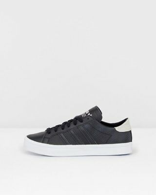 new product d9b31 0d4b7 ADIDAS ORIGINALS COURTVANTAGE Donna BY9236 Sneakers Scarpe Nero